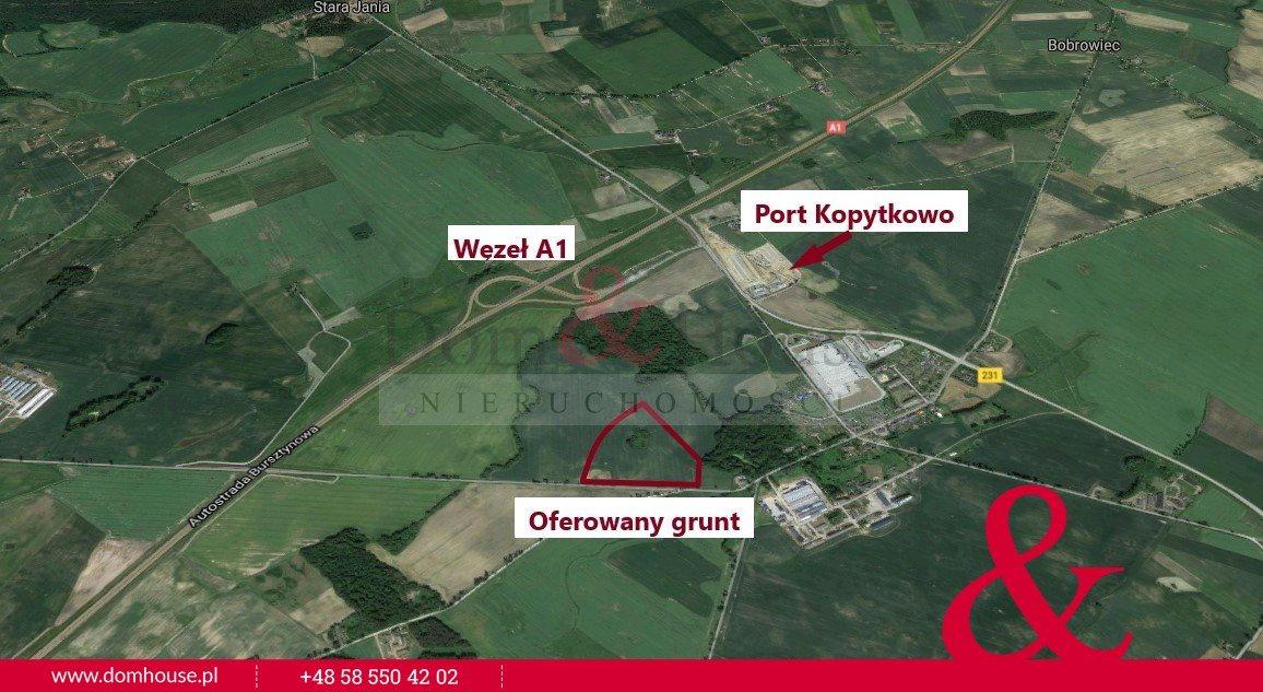 Działka przemysłowo-handlowa na sprzedaż Smętowo Graniczne  104845m2 Foto 3