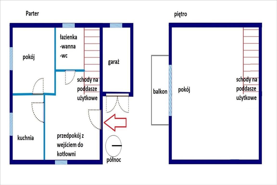 Dom na sprzedaż Bogdanów, Kozłów  80m2 Foto 3