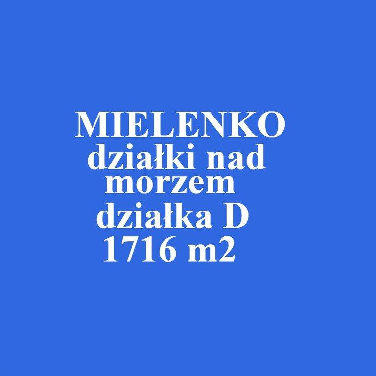 Działka inna na sprzedaż Mielenko  1716m2 Foto 1