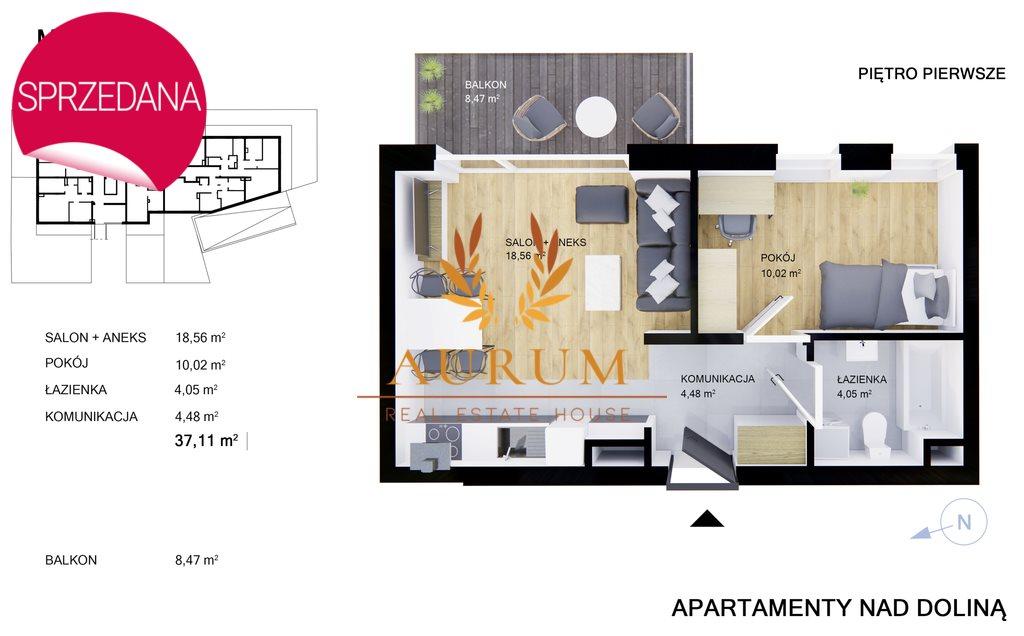 Mieszkanie dwupokojowe na sprzedaż Kielce, Przelot  37m2 Foto 5