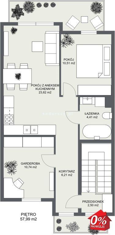Mieszkanie trzypokojowe na sprzedaż Niepołomice, Portowa  101m2 Foto 4