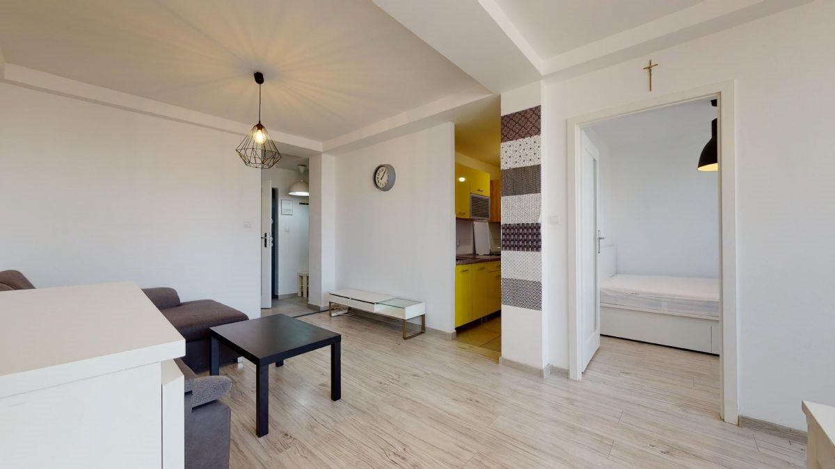 Mieszkanie dwupokojowe na sprzedaż Katowice, Centrum, Aleja Wojciecha Korfantego  48m2 Foto 1