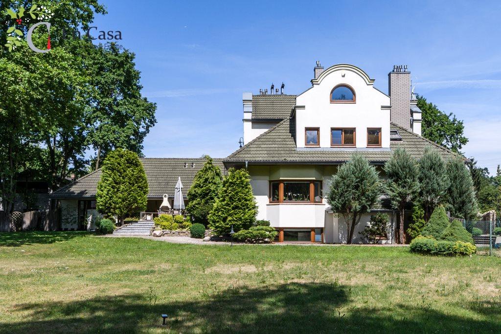 Luksusowy dom na sprzedaż Milanówek, Stefana Okrzei  628m2 Foto 1