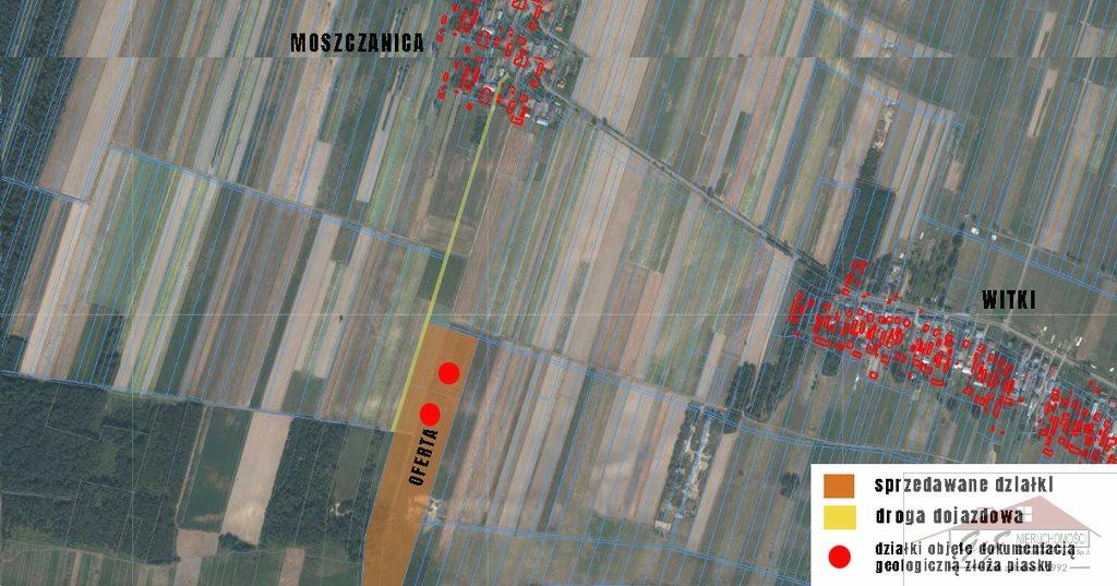 Działka przemysłowo-handlowa na sprzedaż Moszczanica  53900m2 Foto 6