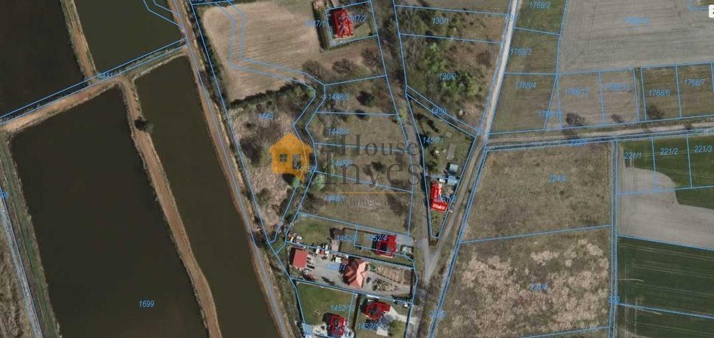 Działka budowlana na sprzedaż Grzymalin  2103m2 Foto 2