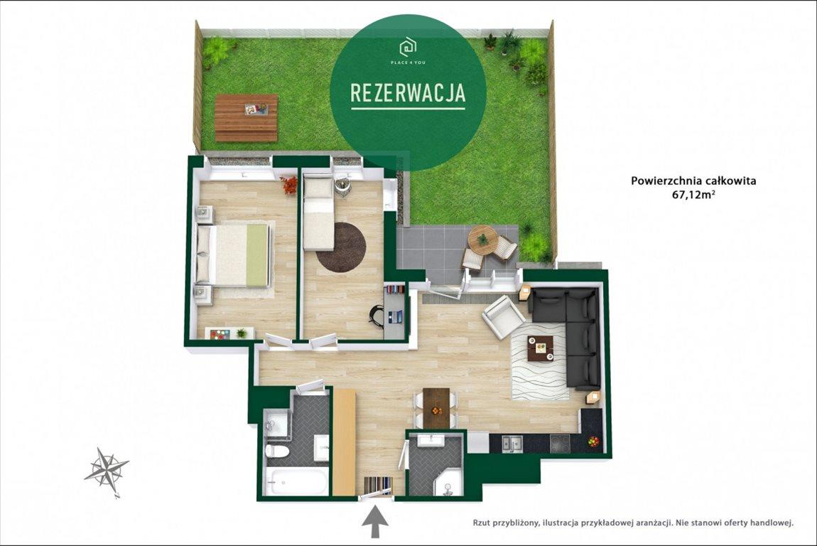 Mieszkanie trzypokojowe na sprzedaż Warszawa, Mokotów Służewiec, Cybernetyki  67m2 Foto 5