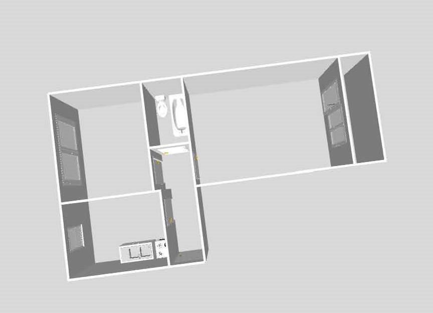 Mieszkanie dwupokojowe na sprzedaż Mielec, Osiedle, Solskiego 12  46m2 Foto 2
