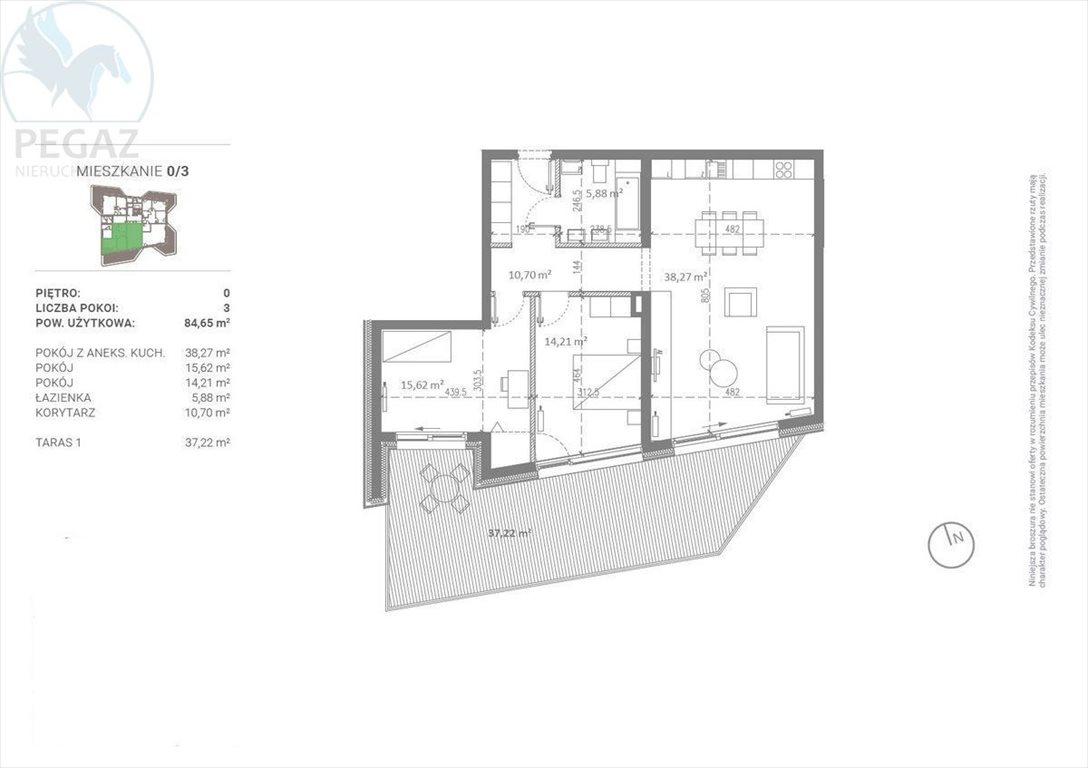 Mieszkanie trzypokojowe na sprzedaż Poznań  85m2 Foto 5