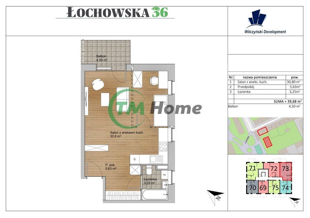 Mieszkanie dwupokojowe na sprzedaż Warszawa, Praga-Północ, Szmulki, Łochowska  40m2 Foto 3