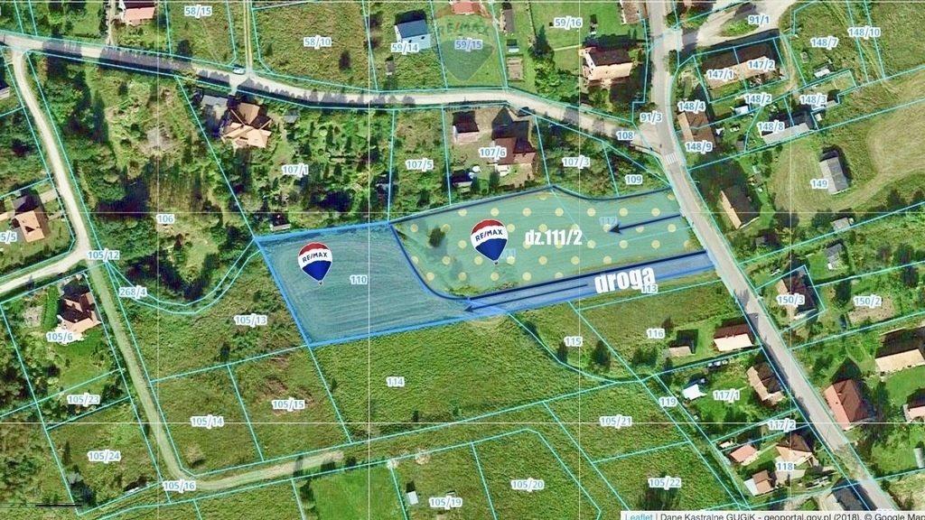 Działka budowlana na sprzedaż Marcinkowo  3612m2 Foto 2