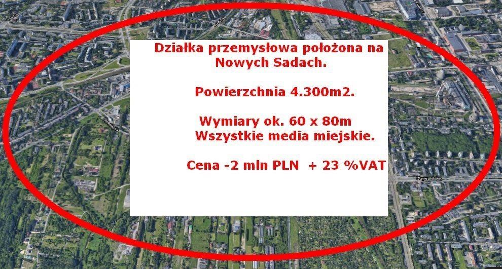 Działka inna na sprzedaż Łódź, Polesie, Nowe Sady  4300m2 Foto 1
