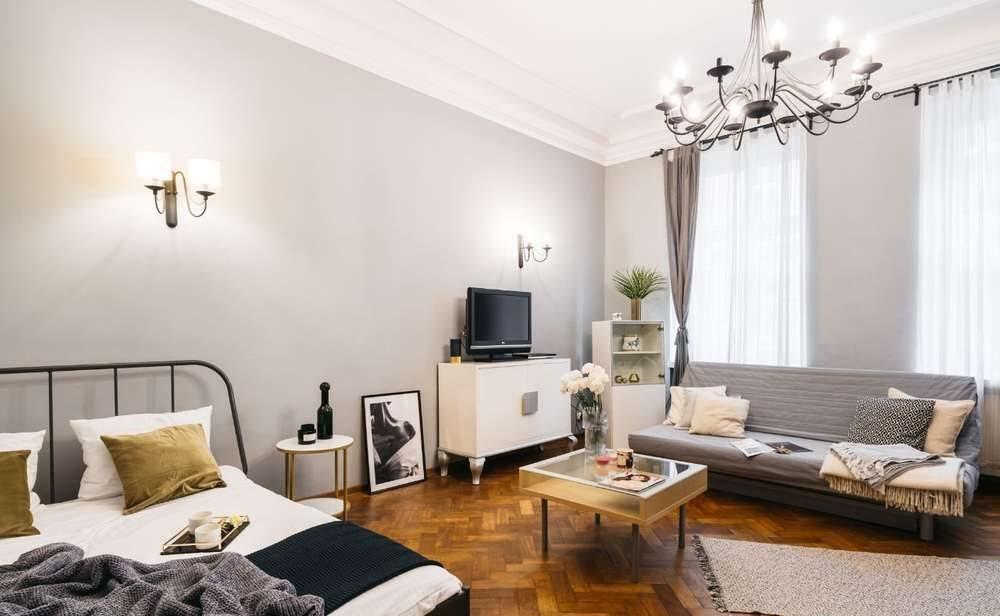 Mieszkanie dwupokojowe na wynajem Kraków, Stare Miasto, Marii Skłodowskiej-Curie  64m2 Foto 5