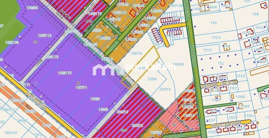 Działka budowlana na sprzedaż Zakrzewo  2800m2 Foto 1