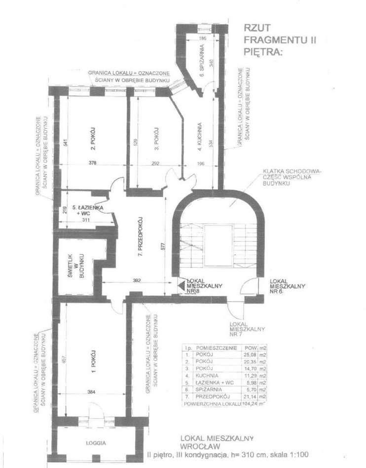 Mieszkanie trzypokojowe na sprzedaż Wrocław, Śródmieście, Plac Grunwaldzki, Edyty Stein 6  104m2 Foto 2