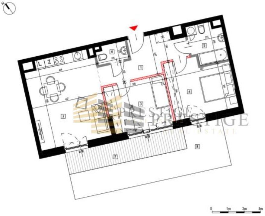 Mieszkanie trzypokojowe na sprzedaż Warszawa, Praga Północ, Szwedzka  68m2 Foto 2