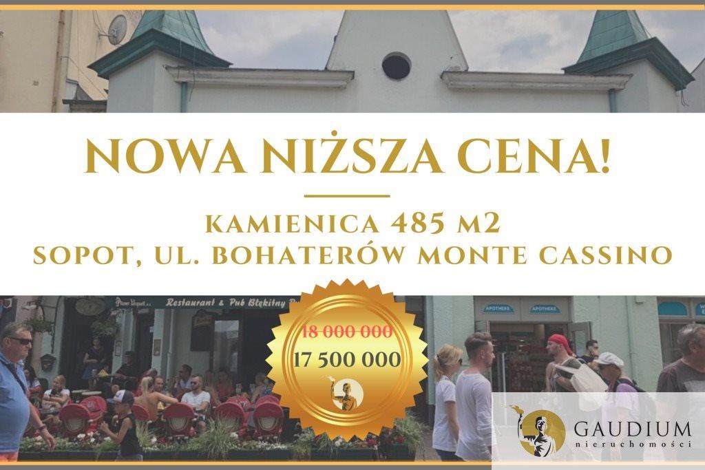 Lokal użytkowy na sprzedaż Sopot, Bohaterów Monte Cassino  485m2 Foto 1