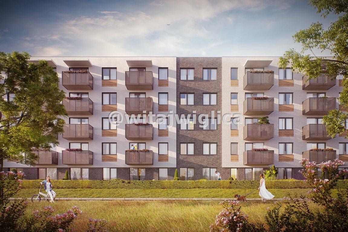 Mieszkanie dwupokojowe na sprzedaż Wrocław, Krzyki, Klecina, Jutrzenki  49m2 Foto 3