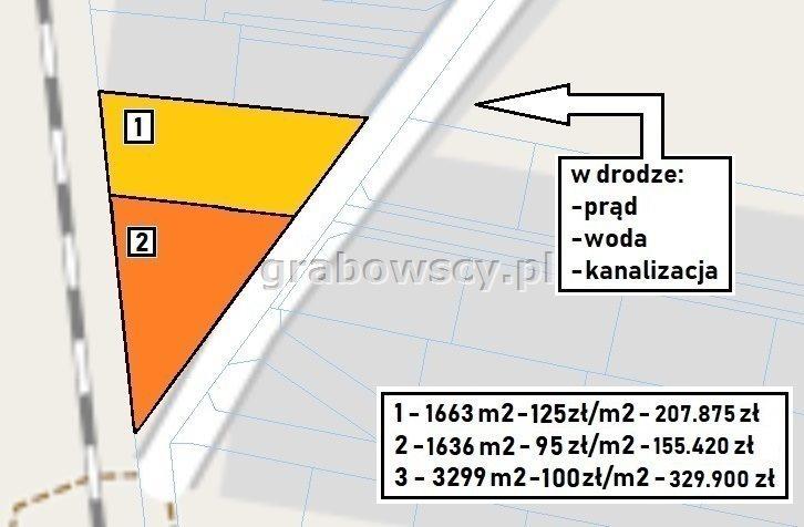 Działka budowlana na sprzedaż Hryniewicze  1636m2 Foto 7