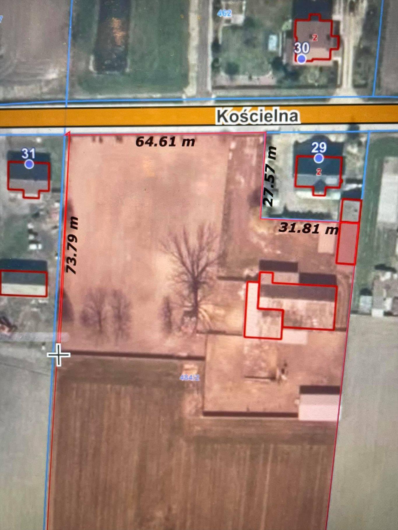 Działka gospodarstwo rolne na sprzedaż Przystajń, Ługi Radły, Kościelna 29a  60000m2 Foto 1