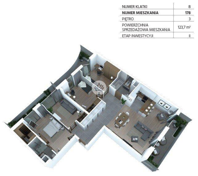 Mieszkanie na sprzedaż Bydgoszcz, Szwederowo, Piękna  124m2 Foto 8