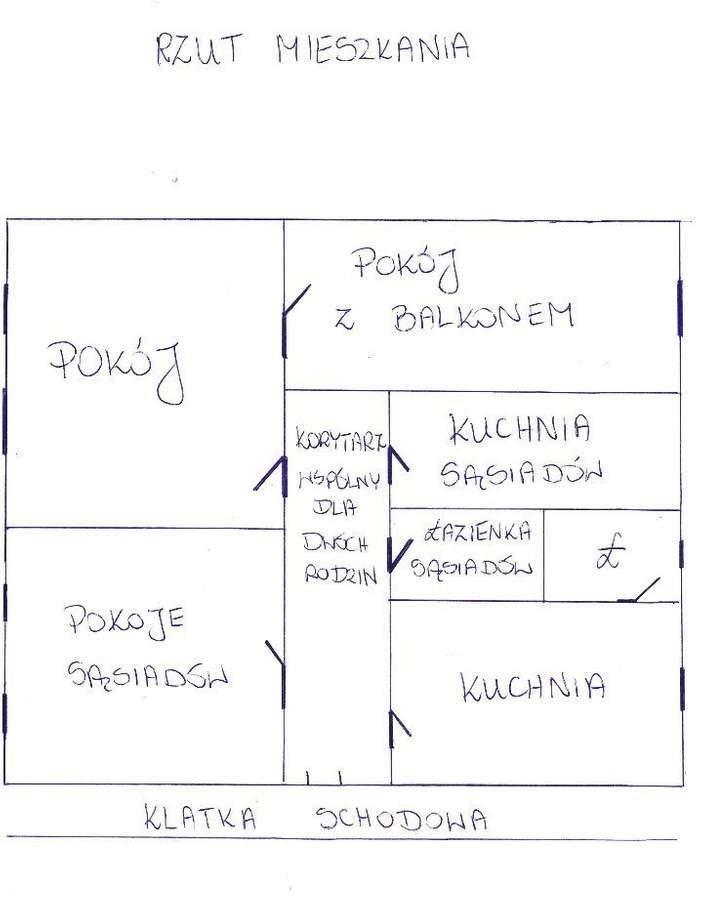 Mieszkanie dwupokojowe na sprzedaż Międzychód  59m2 Foto 9