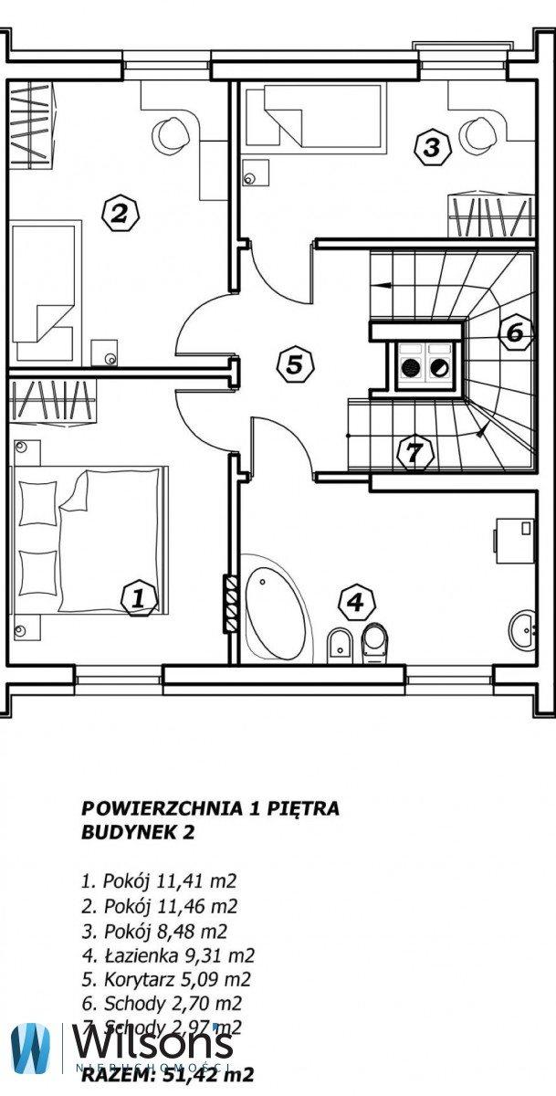 Mieszkanie czteropokojowe  na sprzedaż Radzymin, Świerkowa  135m2 Foto 5