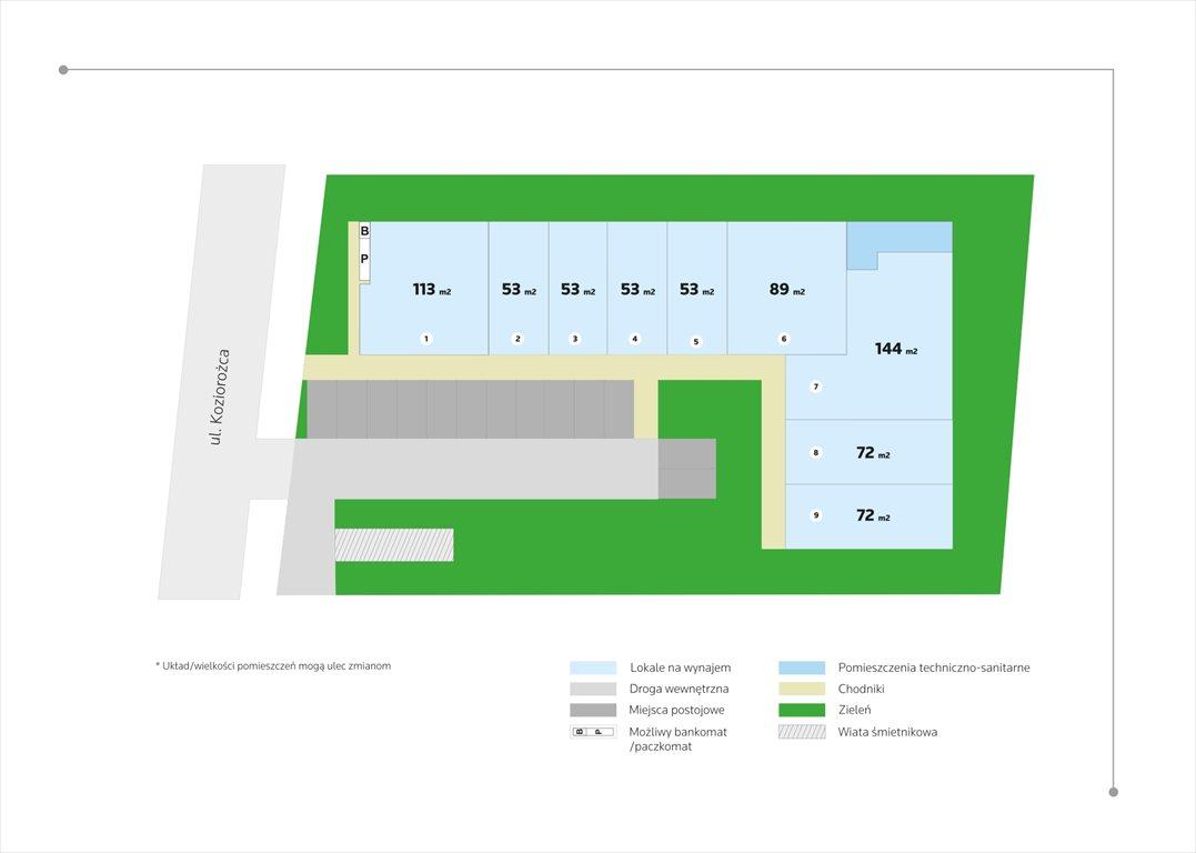 Lokal użytkowy na wynajem Gdańsk, Osowa, Koziorożca  89m2 Foto 3