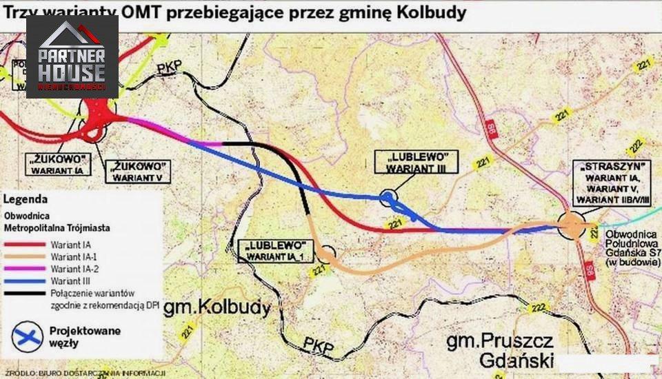 Działka inwestycyjna na sprzedaż Lublewo Gdańskie  3205m2 Foto 9