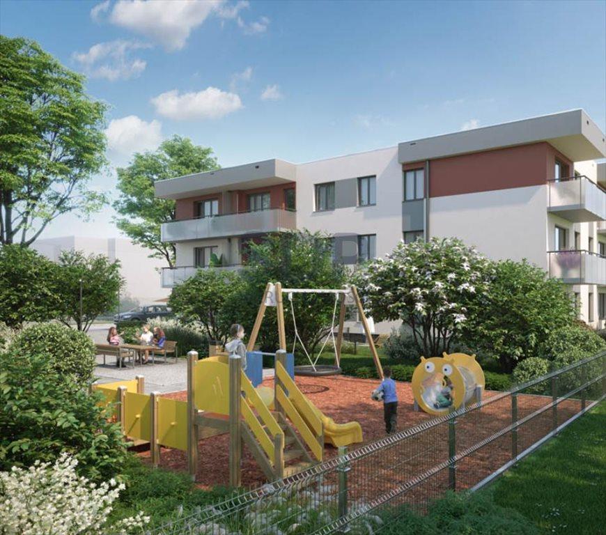 Mieszkanie dwupokojowe na sprzedaż Wrocław, Psie Pole, Wojnów, Perkusyjna  44m2 Foto 2