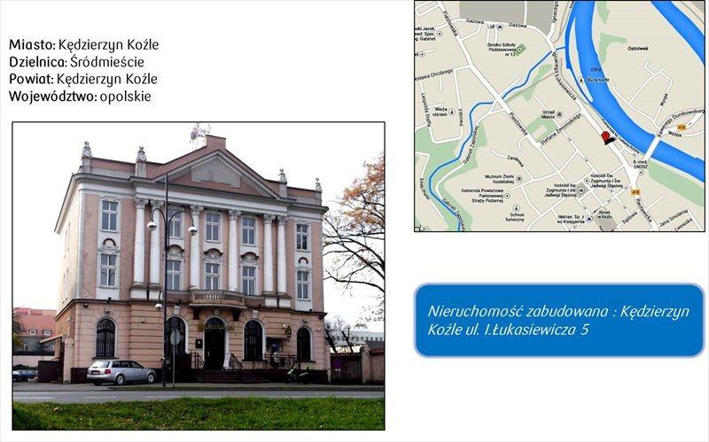 Lokal użytkowy na sprzedaż Kędzierzyn-Koźle, Ignacego Łukasiewicza  847m2 Foto 1