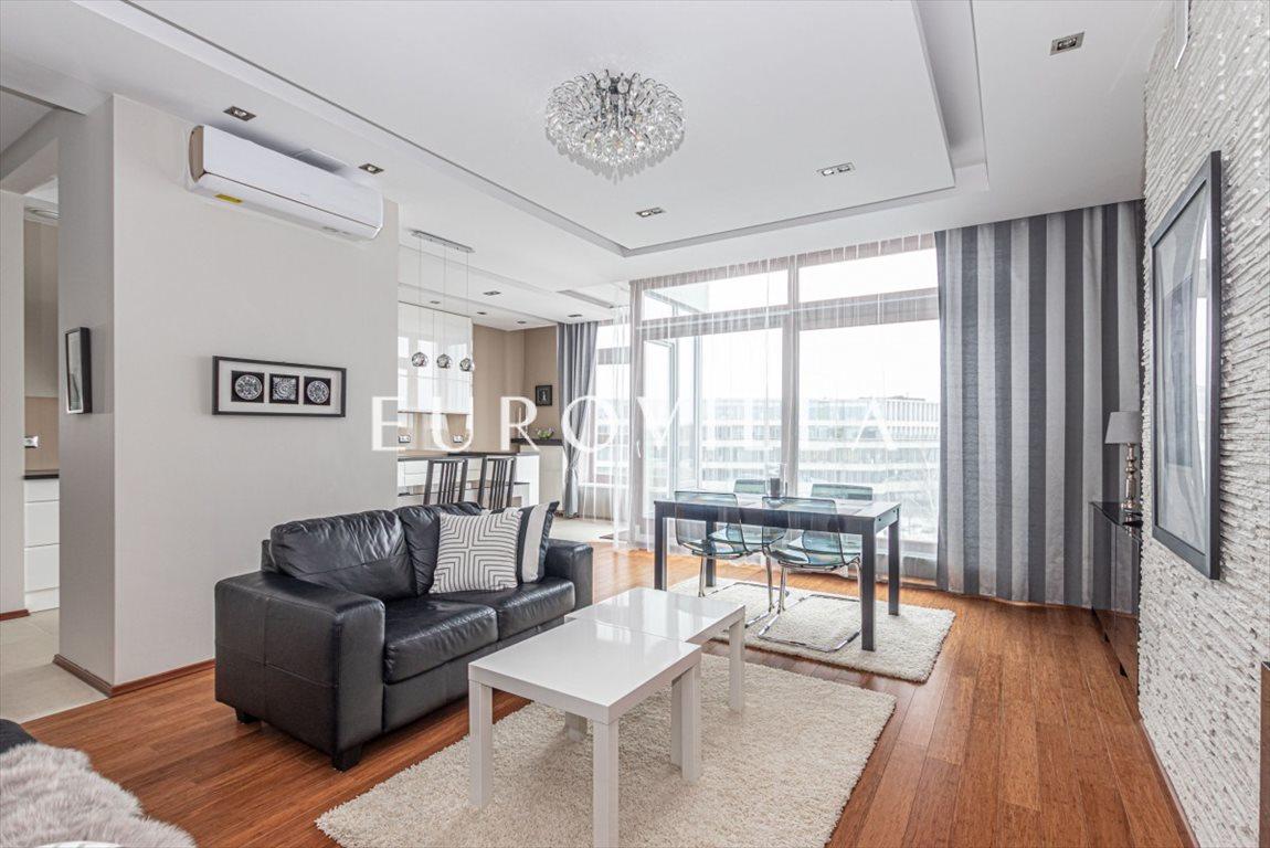Mieszkanie trzypokojowe na wynajem Warszawa, Wilanów, Franciszka Klimczaka  101m2 Foto 3
