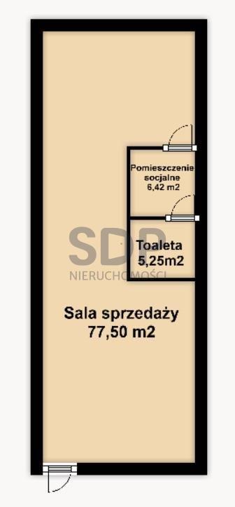 Lokal użytkowy na sprzedaż Wrocław, Stare Miasto, Stare Miasto, Kępa Mieszczańska  89m2 Foto 2