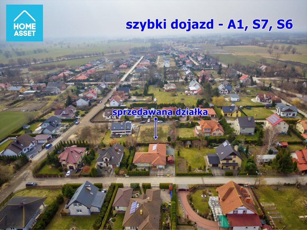 Działka budowlana na sprzedaż Wiślinka, Koralowa  732m2 Foto 7