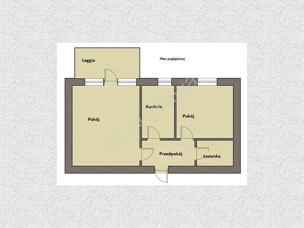 Mieszkanie dwupokojowe na sprzedaż Warszawa, Praga-Południe, Gen. Tadeusza Bora Komorowskiego  43m2 Foto 8