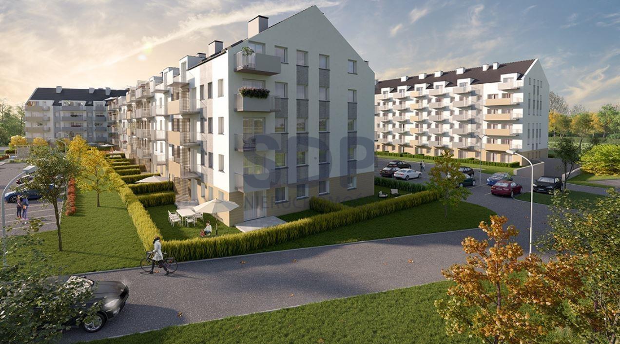 Mieszkanie trzypokojowe na sprzedaż Wrocław, Krzyki, Wojszyce, Buforowa  48m2 Foto 4