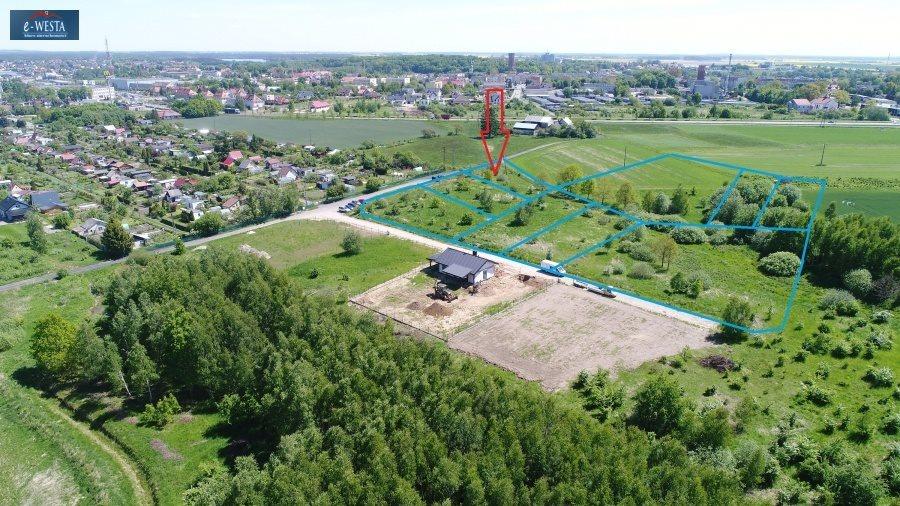 Działka budowlana na sprzedaż Człuchów  1263m2 Foto 3