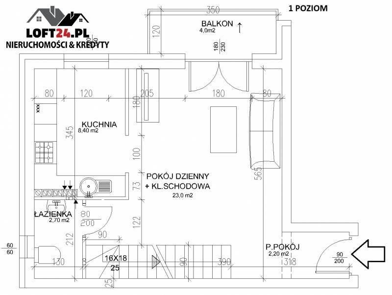 Mieszkanie trzypokojowe na sprzedaż Lubin, os. Polne, Kochanowskiego  77m2 Foto 3