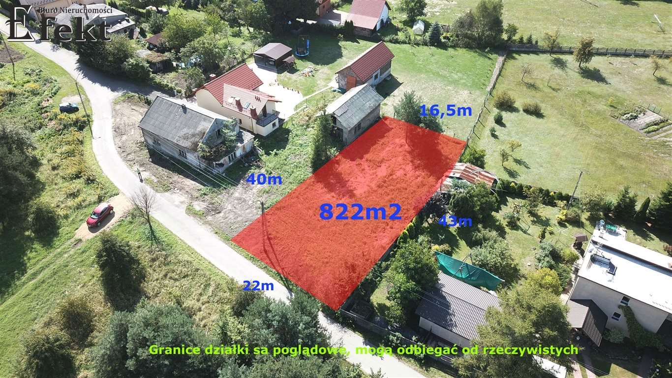 Działka inna na sprzedaż Trzebinia, Siersza  822m2 Foto 1