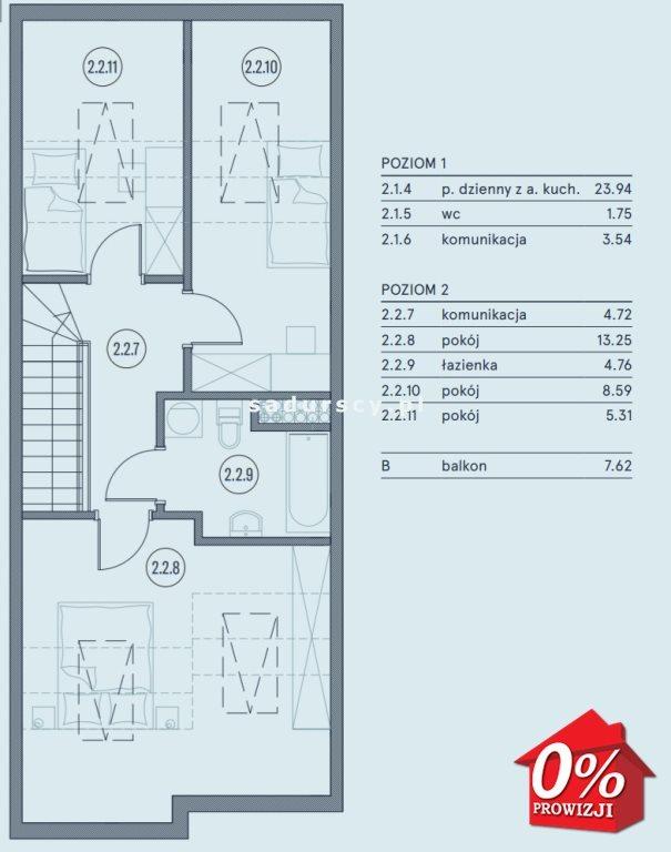 Mieszkanie czteropokojowe  na sprzedaż Wieliczka, Wieliczka, Wieliczka, Kasztanowa okolice  76m2 Foto 5