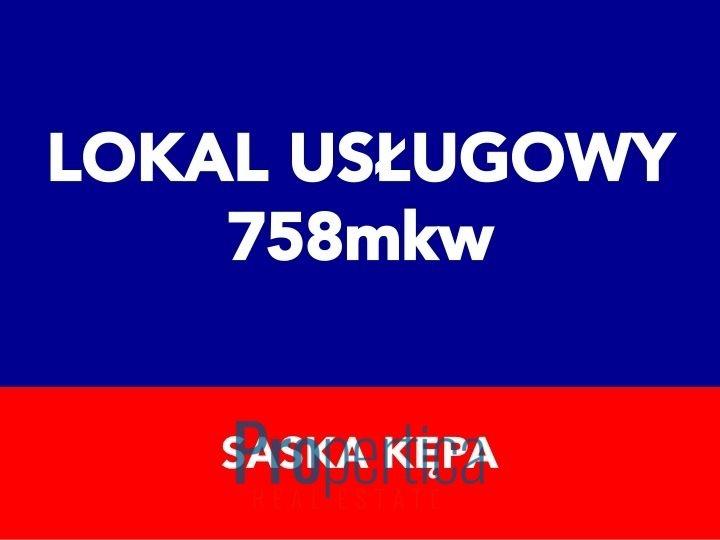 Lokal użytkowy na sprzedaż Warszawa, Praga-Południe, Saska Kępa  758m2 Foto 1