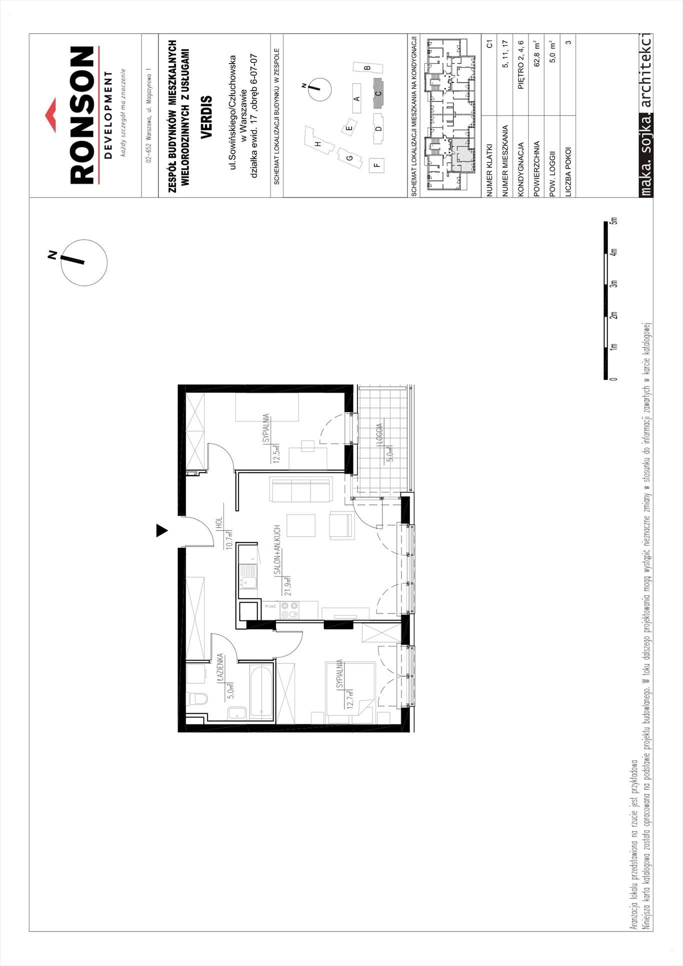 Mieszkanie trzypokojowe na sprzedaż Warszawa, Wola, Czyste, Józefa Sowińskiego 53  63m2 Foto 15