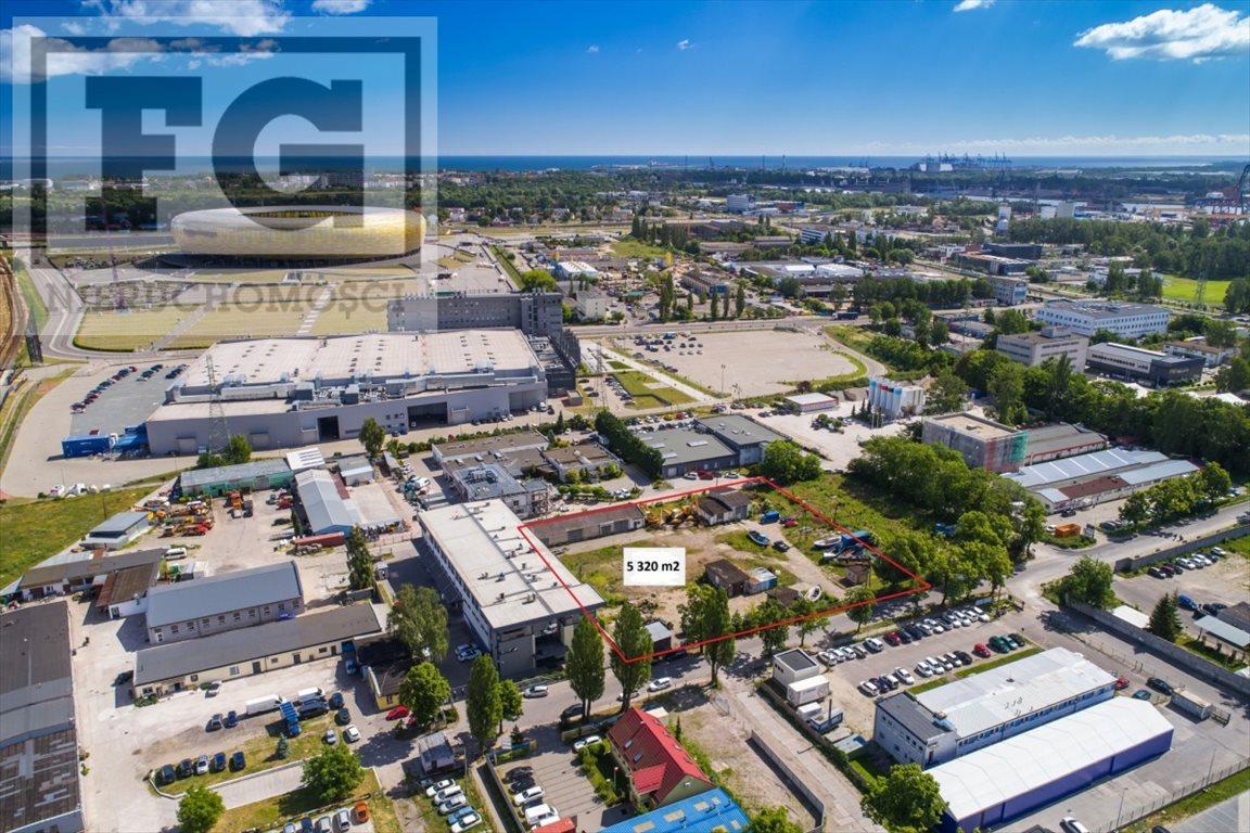 Działka przemysłowo-handlowa na sprzedaż Gdańsk, Letnica  5320m2 Foto 5