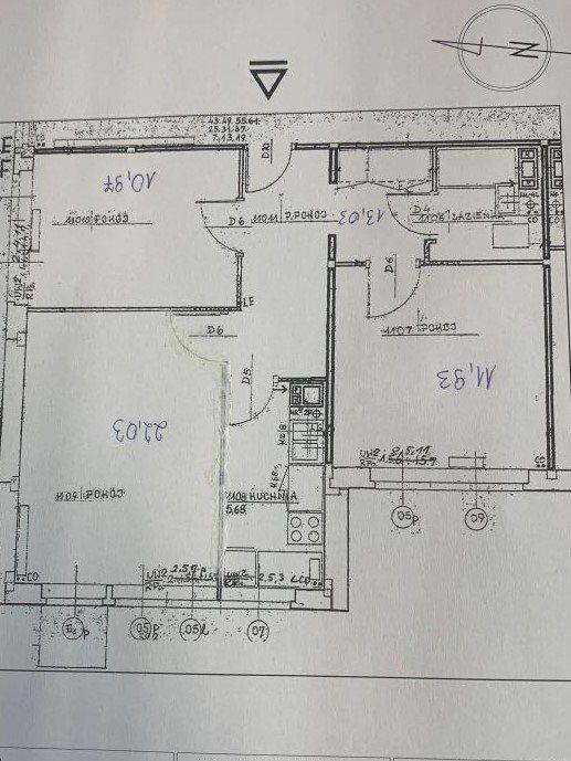 Mieszkanie trzypokojowe na sprzedaż Warszawa, Żoliborz, Włościańska  58m2 Foto 7