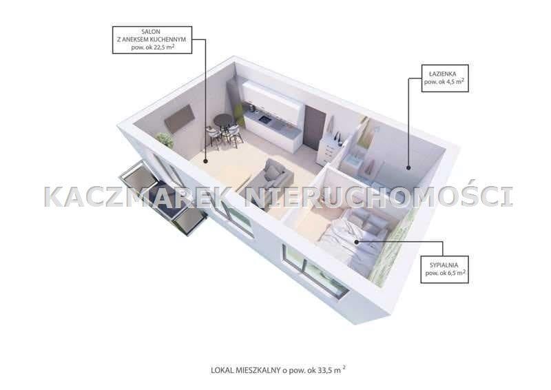 Mieszkanie na sprzedaż Bieruń  55m2 Foto 7
