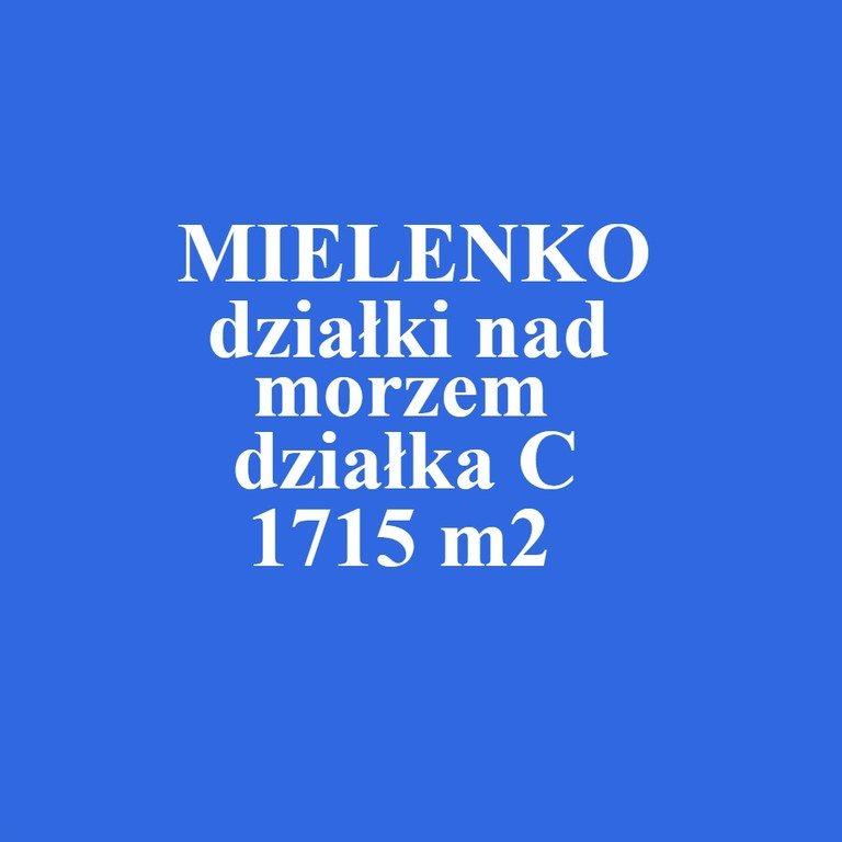 Działka inna na sprzedaż Mielenko  1715m2 Foto 1