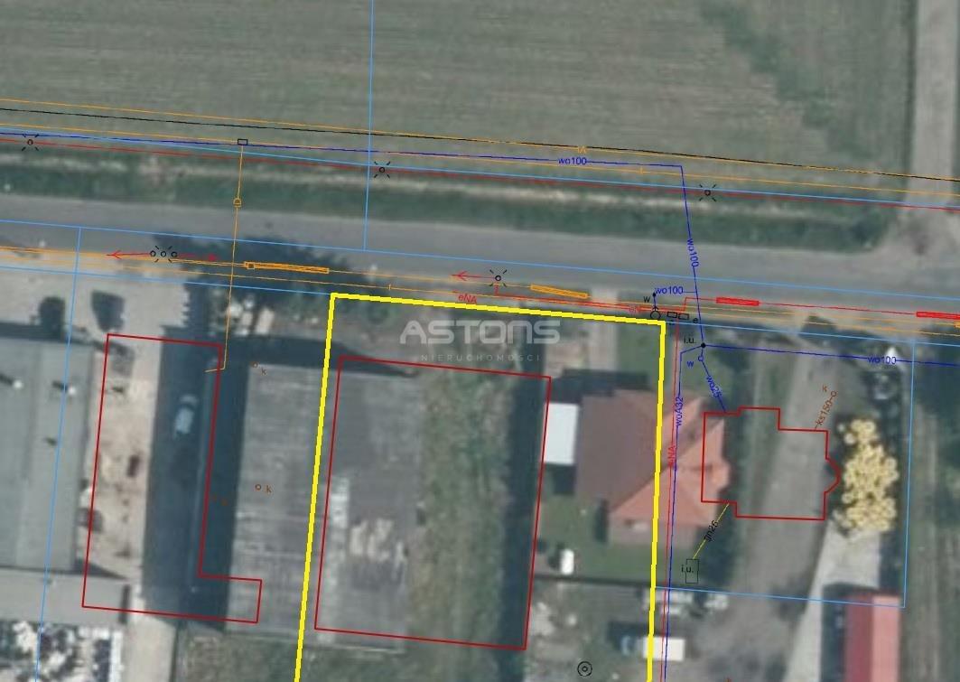 Działka przemysłowo-handlowa na sprzedaż Kostrzyn, Poznańska  3843m2 Foto 5