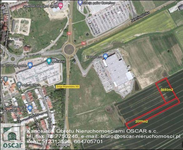 Działka komercyjna na sprzedaż Łagów  3685m2 Foto 2