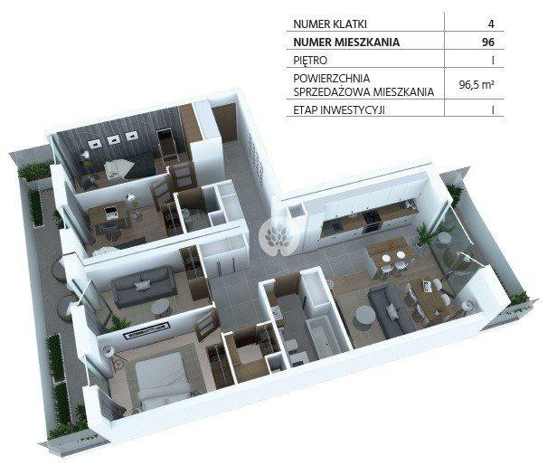 Mieszkanie trzypokojowe na sprzedaż Bydgoszcz, Szwederowo, Piękna  97m2 Foto 12