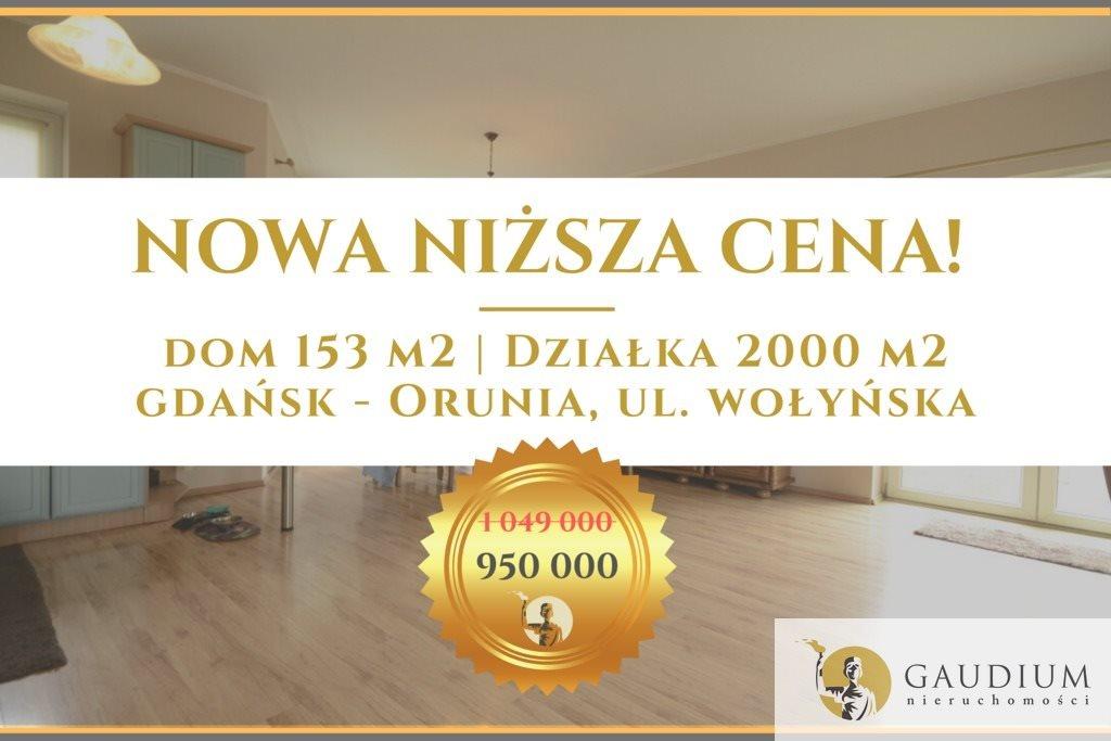 Dom na sprzedaż Gdańsk, Orunia, Wołyńska  153m2 Foto 1