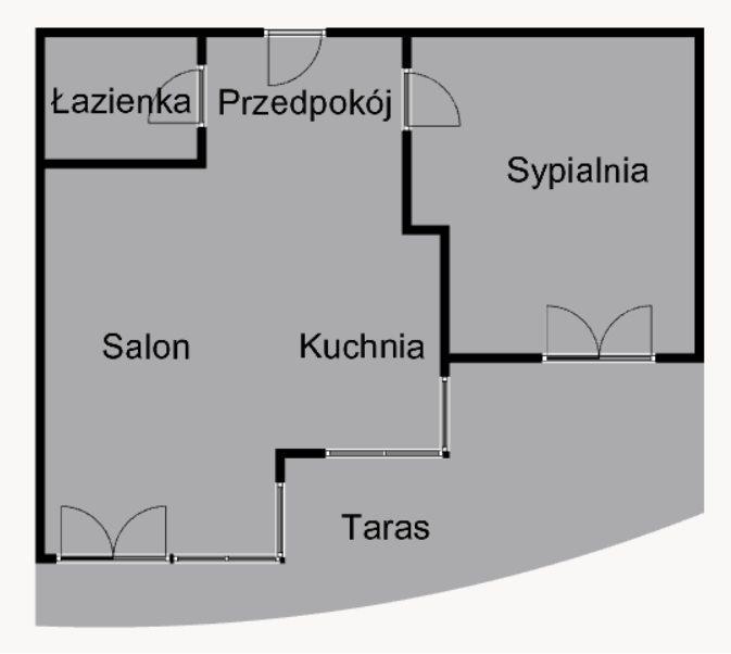 Mieszkanie dwupokojowe na wynajem Kraków, Prądnik Czerwony, Prądnik Czerwony, Dobrego Pasterza  49m2 Foto 12